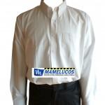 camisa oxford mameluco