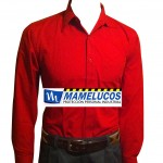 camisa roja mamelucos
